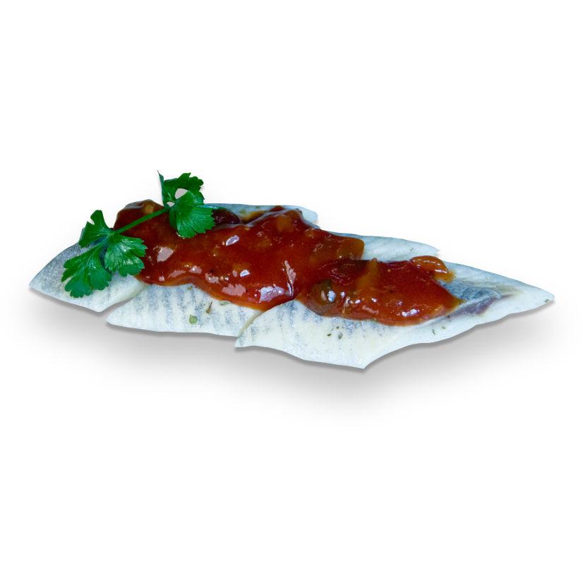Filety śledziowe w sosie salsa